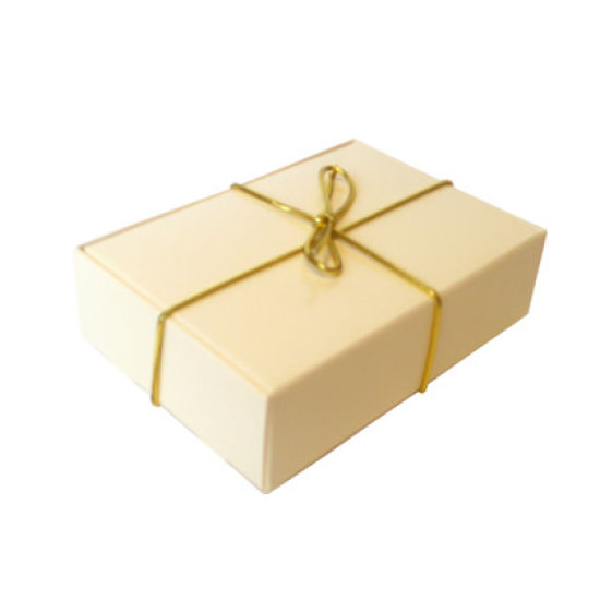 Ivory Wedding Cake Box - Pack of 6