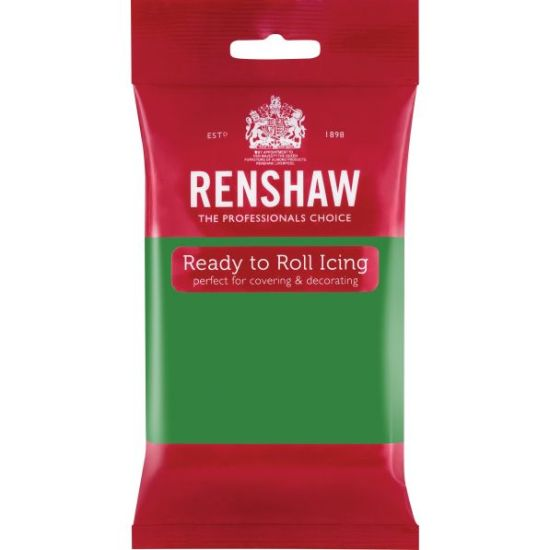 Renshaw Ready to Roll Icing Lincoln Green 250g