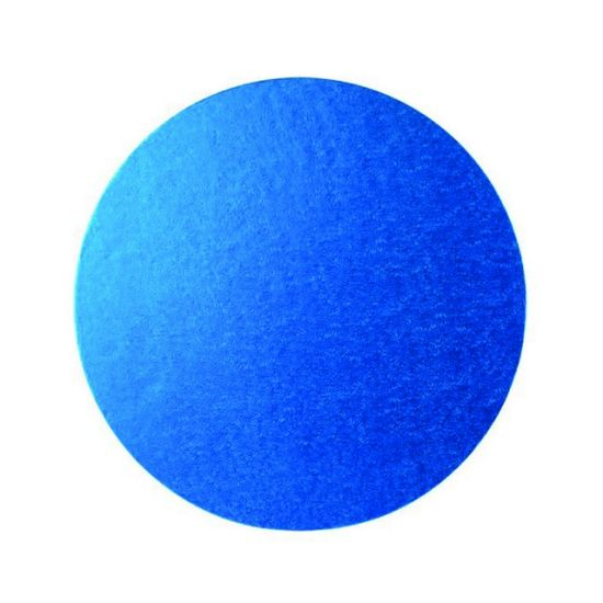 Blue Drum 1/2 Inch Thick Round 8 Inch