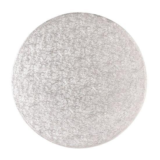 Silver Drum 1/2 Inch Thick Round 4 Inch