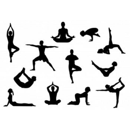 Patchwork Cutter & Embosser Yoga Silhouette Set