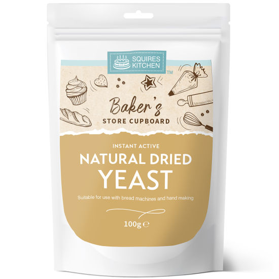 SK Instant Active Natural Dried Yeast 100g