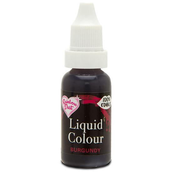 Rainbow Dust Liquid Colour - Burgundy 19g