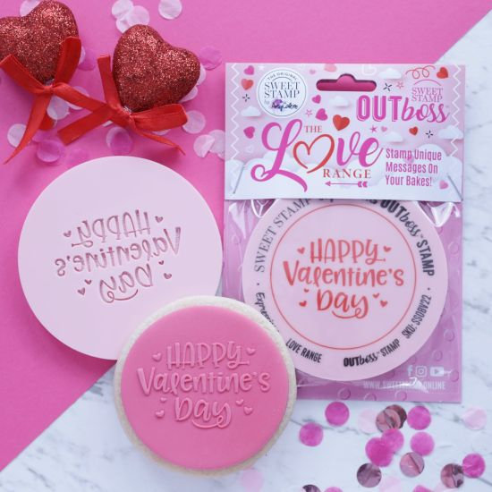 Sweet Stamp OUTboss Love Expressions Fun Happy Valentines Day