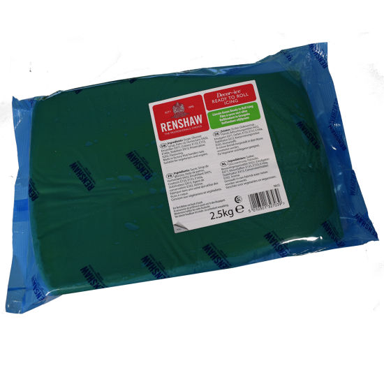 Renshaw Ready to Roll Icing Lincoln Green 2.5kg
