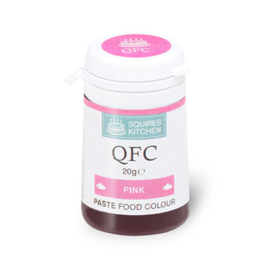 SK QFC Quality Food Colour Paste Pink 20g