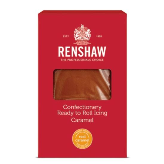 Renshaw Confectionery Ready to Roll Icing Caramel 1kg