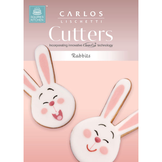 Carlos Lischetti Biscuit Cutters - Rabbits (Set of 2)
