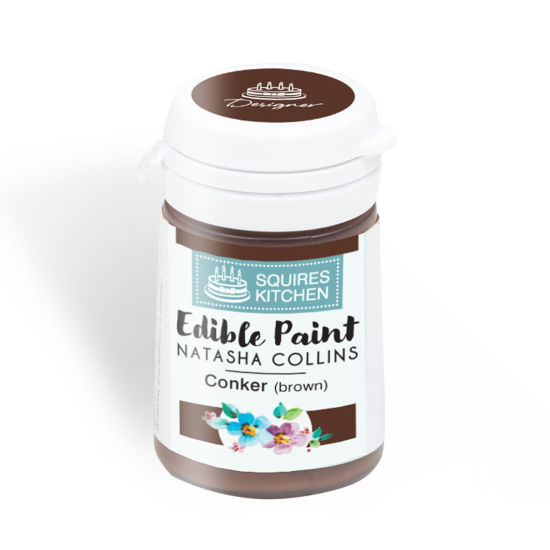 SK Edible Paint by Natasha Collins Conker (Brown)