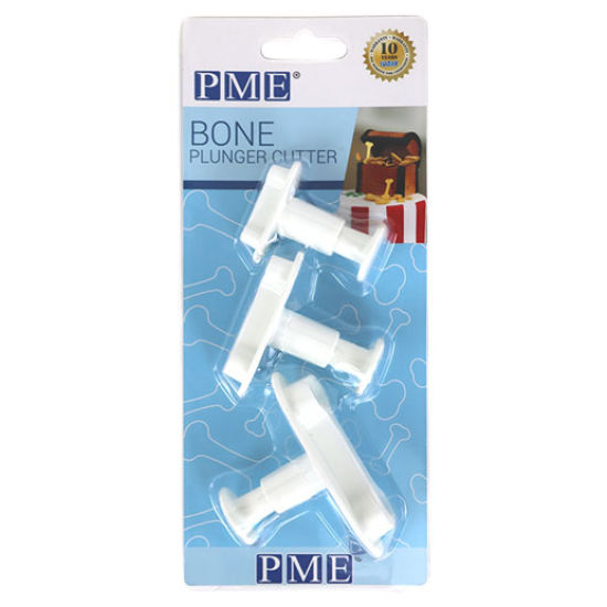 PME Plunger Cutters - Bones (set of 3)