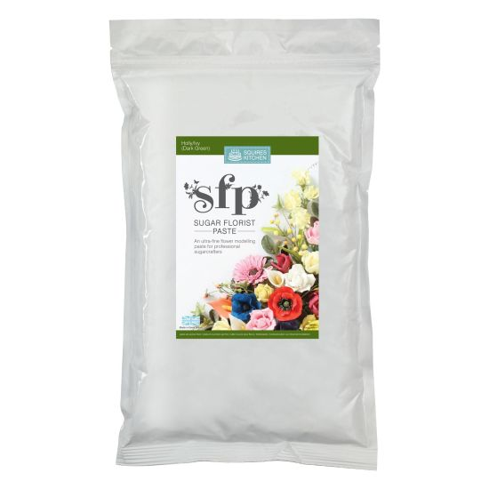SK SFP Sugar Florist Paste Holly/Ivy Dark Green 1kg