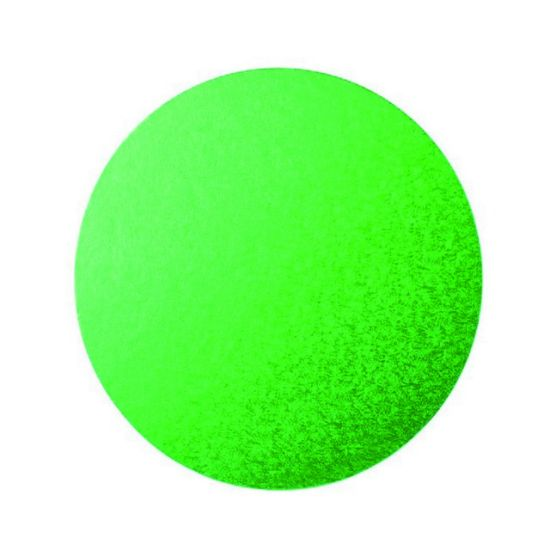 Green Drum 1/2 Inch Thick Round 8 Inch