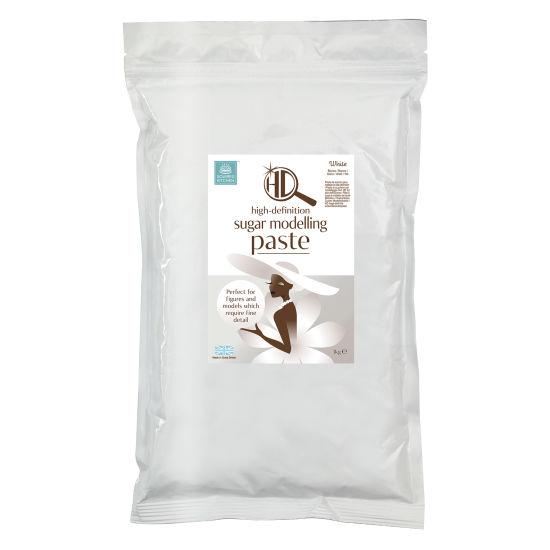 Squires Kitchen HD Sugar Modelling Paste White 1kg