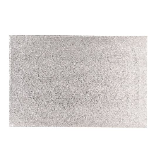 Silver 3mm Thick Hardboards - Oblong - 16x12 Inch