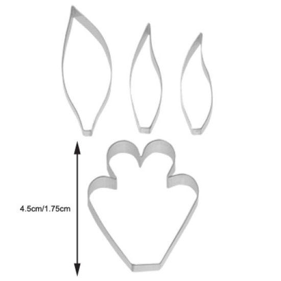 TinkerTech Bamboo Orchid Petal Cutter