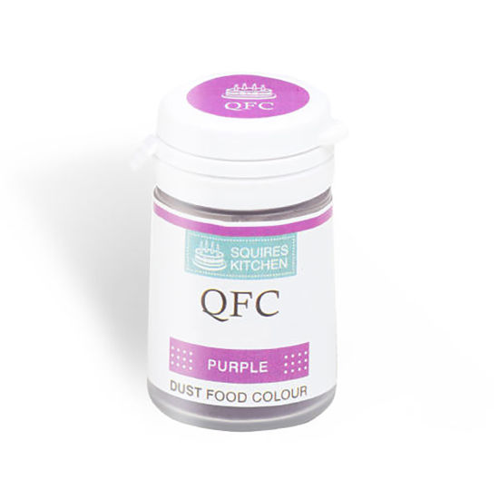 SK QFC Quality Food Colour Dust Purple 4g