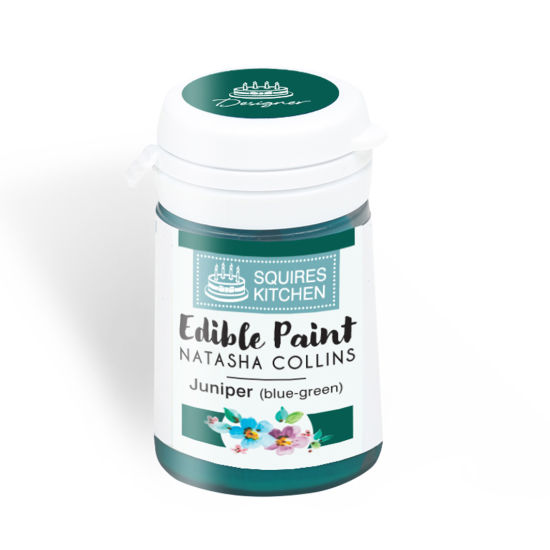 SK Edible Paint by Natasha Collins Juniper (Blue-Green)