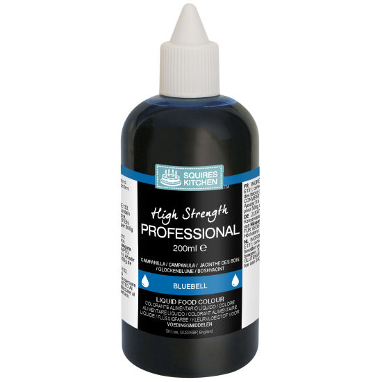 SK Professional Food Colour Liquid Bluebell Navy Blue