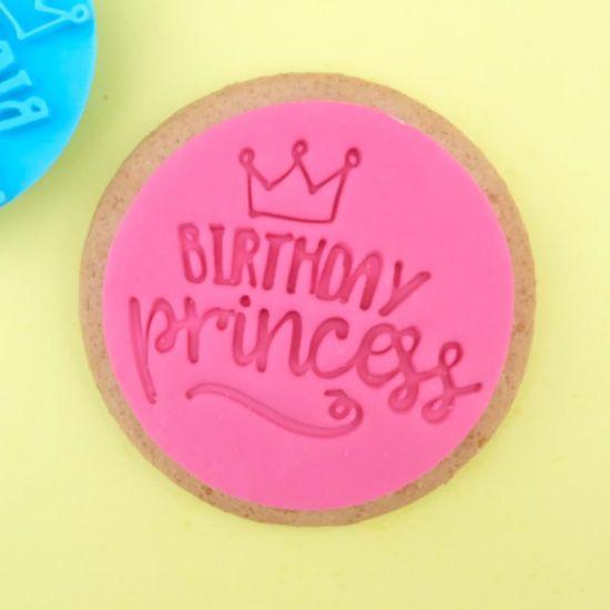 Sweet Stamp Birthday Princess Cupcake Embosser