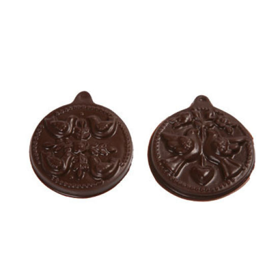 12 Days of Christmas Chocolate Mould - Days 1-6