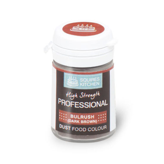SK Professional Food Colour Dust Bulrush (Dark Brown) 4g