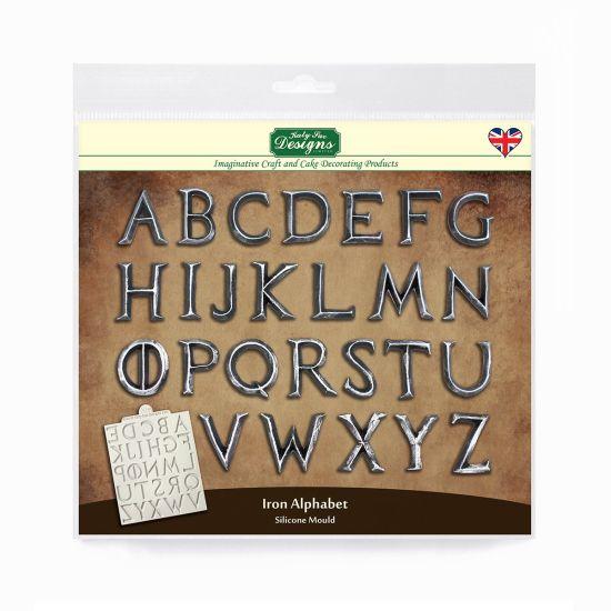 Katy Sue Iron Alphabet Mould
