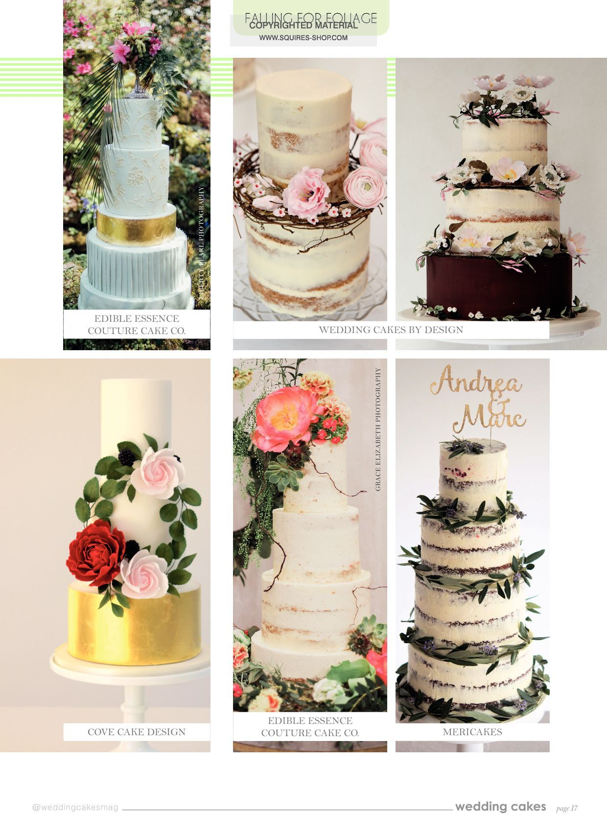 Wedding Cakes Magazine Spring 2017 | Squires Kitchen Shop