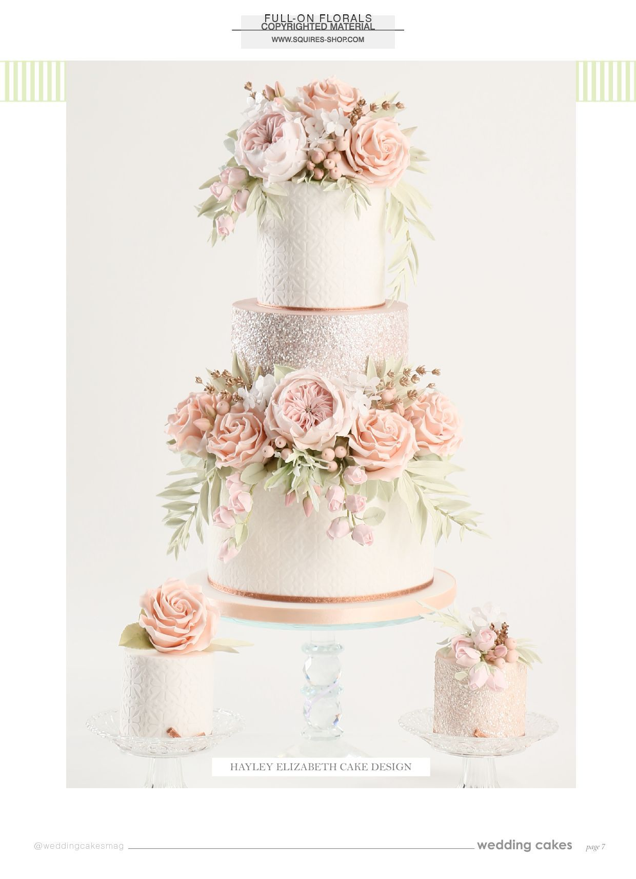 Wedding Cakes Magazine Summer 2018 | Squires Kitchen Shop