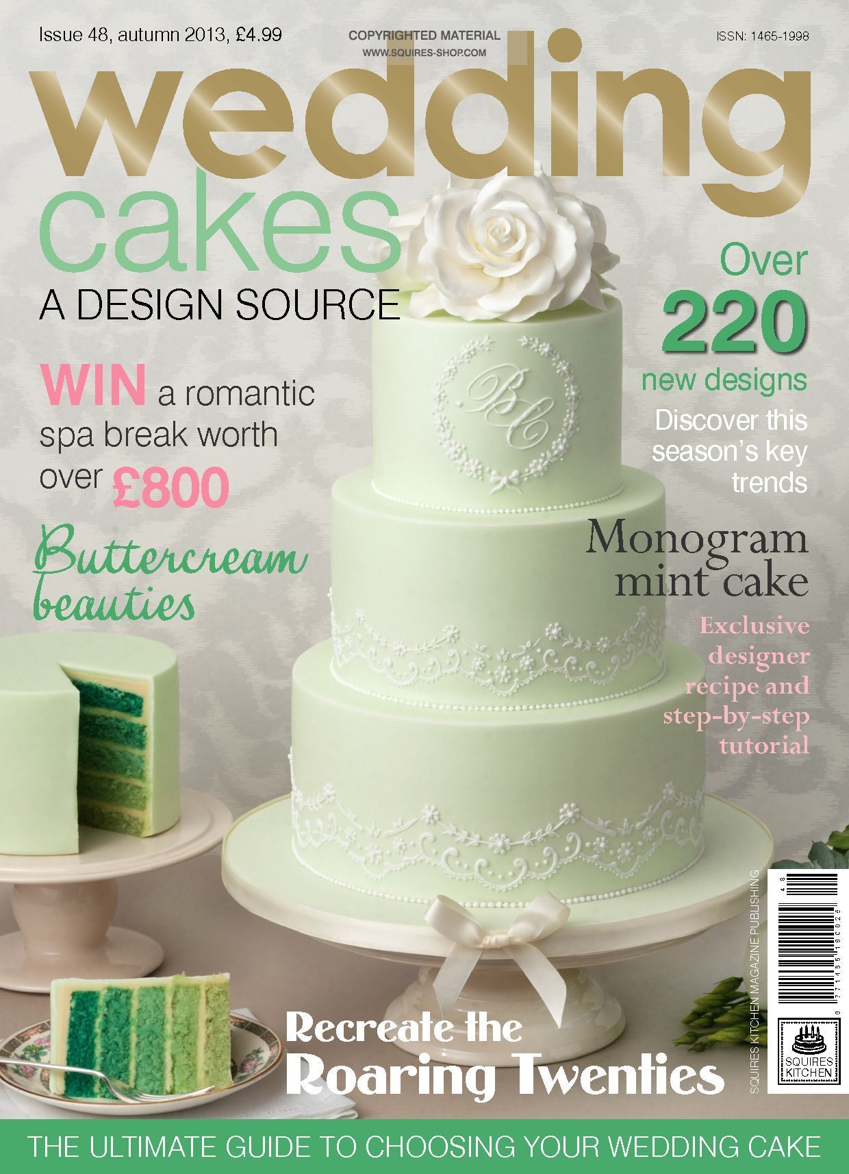 wedding cake magazines wedding cakes magazine autumn 2013 squires kitchen shop 23112