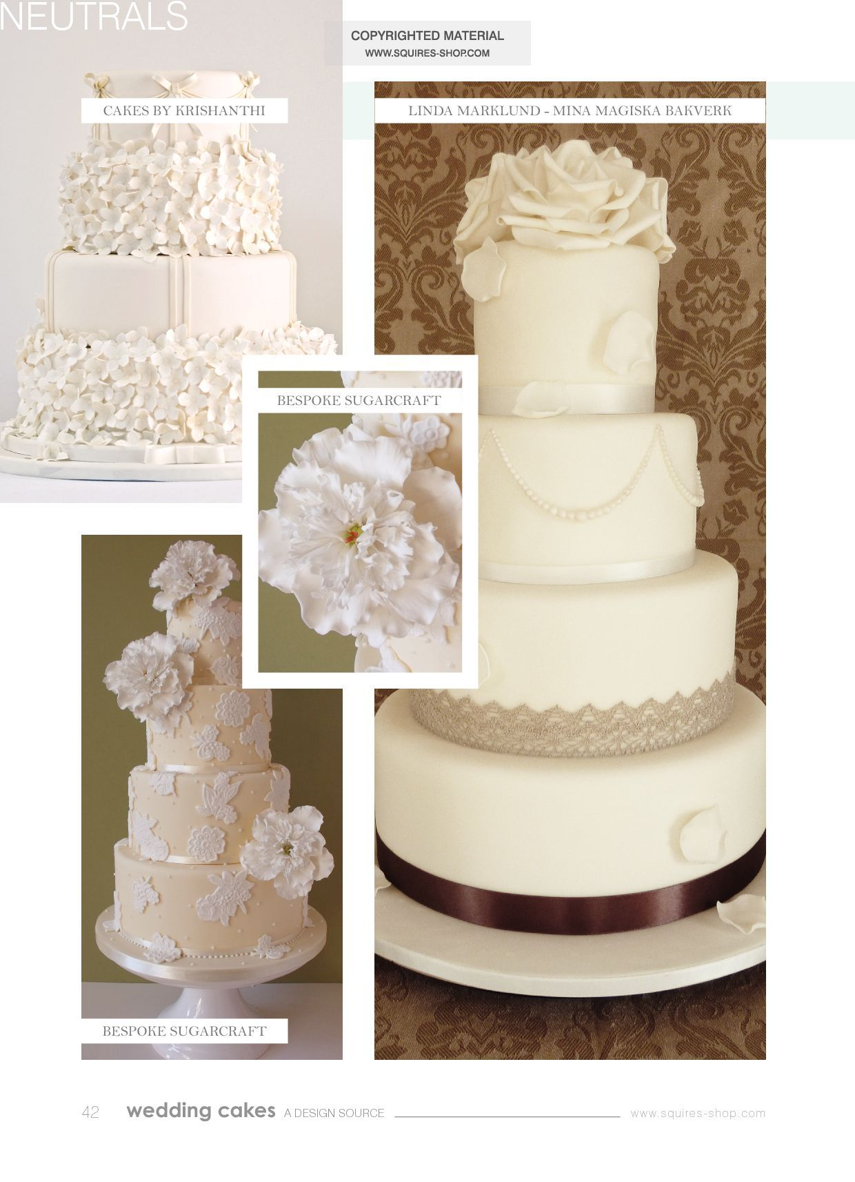 Wedding Cakes Magazine Winter 2012-13 | Squires Kitchen Shop