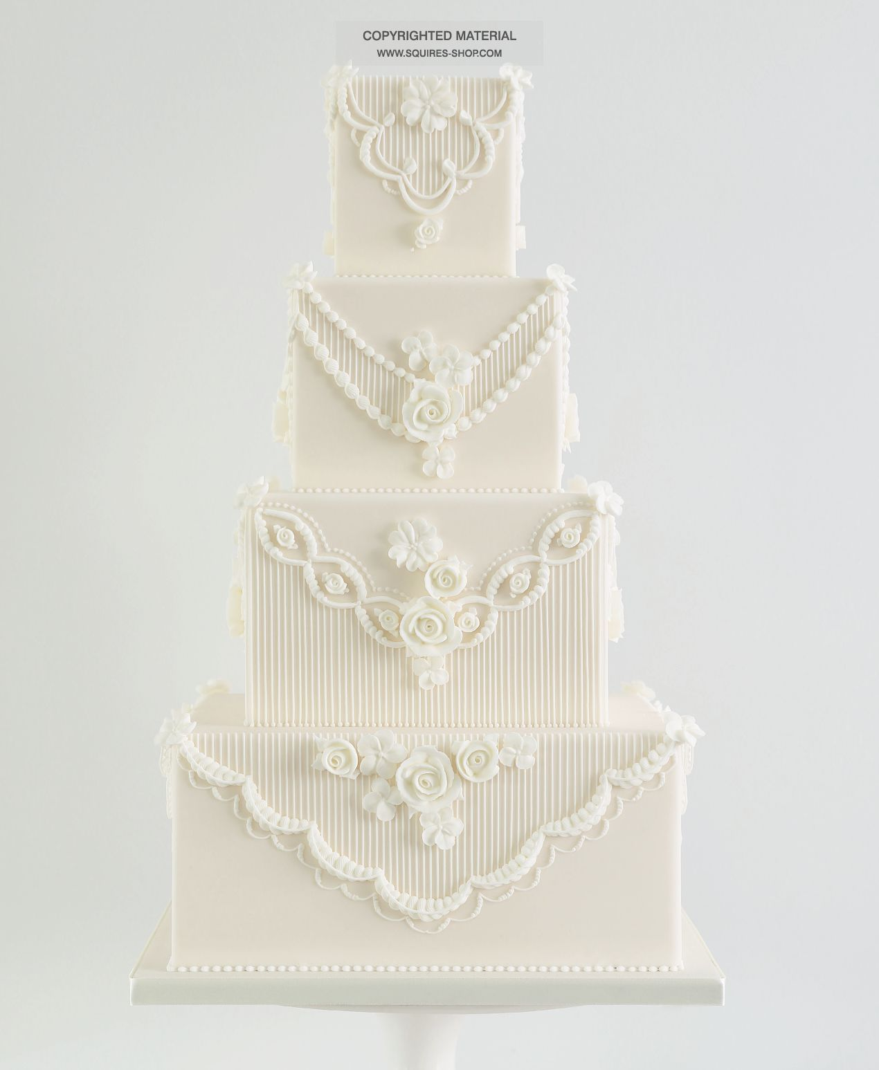 Baking, Cake Decorating 4 Piece Straight Frill Cutter Design Sugarcraft D2